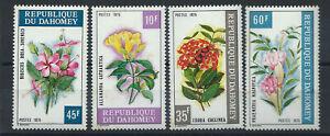 Dahomey-N-360-63-MNH-1975-Fleurs