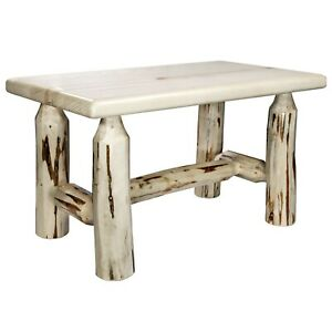 Strange Details About Log Foot Stool For Rocker Amish Made Rustic Rocking Chair Ottoman Footrest Dailytribune Chair Design For Home Dailytribuneorg