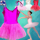 Age 3-7 Girls Ballet Fairy Dress Costume Kids Party Tutu Skirt Leotards CSKIR4
