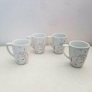 Corelle-Coordinates-Porcelain-Cups-Splendor-4-3-8-034-Set-of-4-Coffee-Tea-Cups