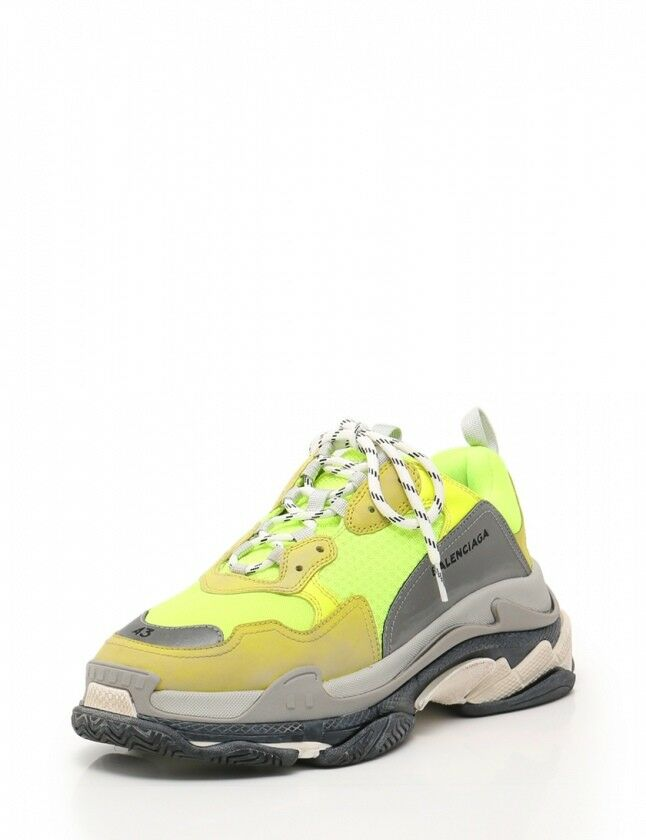 Balenciaga sneaker low-cut triple S trainer neon 28.5 shoes 512175 2018SS(20478
