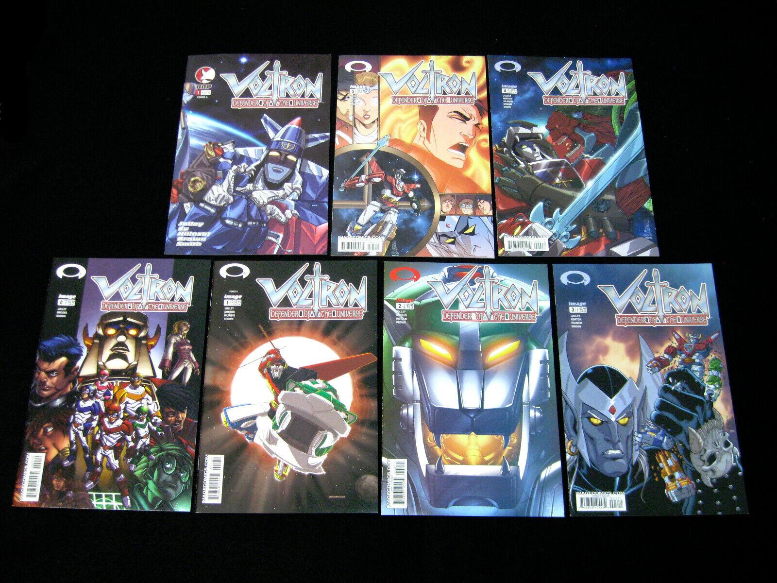 Image 01 - VOLTRON Lot of 7 Image Comic Books (2003 Vol 1 #1-5) (2004 Vol 2 #1) Superhero