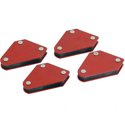 4 Pack Welding Aids Holder Magnets Soldering Welder Metal Sheet Working Tools