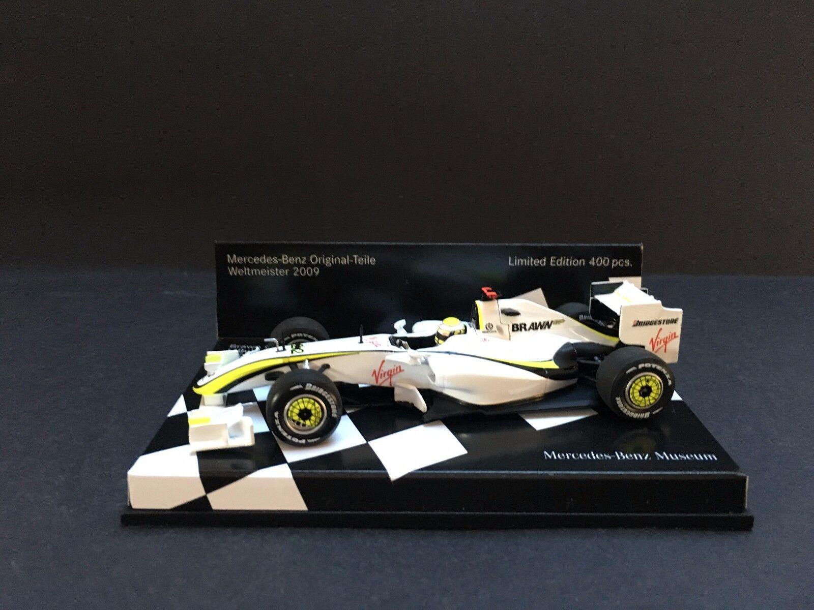 Minichamps - Jenson Button - Brawn GP - BGP001 - 1 43 -Very Rare -Museum edition