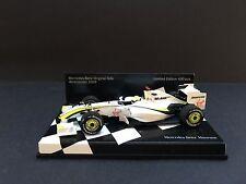 Minichamps - Jenson Button - Brawn GP - BGP001 - 1:43 -Very Rare -Museum edition