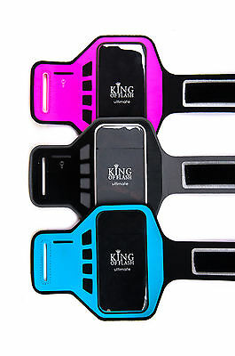 Ultimate Iphone 5, 5s, 5c Suprema Qualità Jogging Corsa Palestra Ciclismo Bracciale-