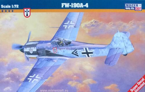 MISTERCRAFT® 030018 Focke-Wulf Fw190A-4 in 1:72