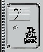The Real Book: Bass Clef, Sixth Edition By , (plastic Comb), Hal Leonard , New, on sale