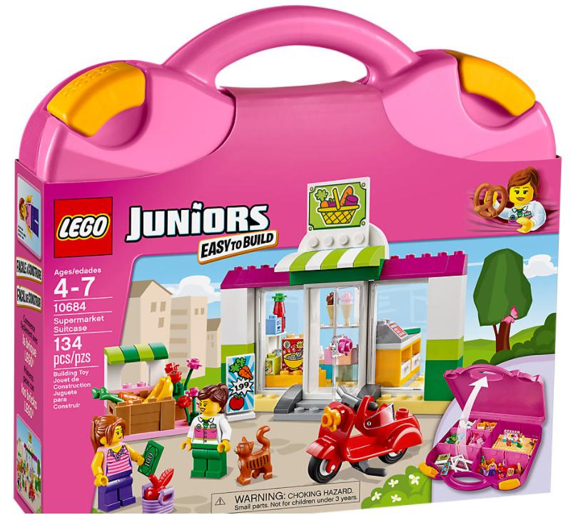 LEGO 10684 Juniors  Valigetta supermercato NUOVO & NON APERTO