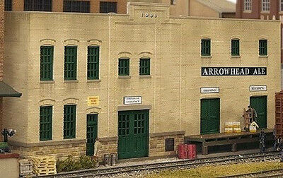 HO Scale - Kit Warehouse Background Building - 3193 New