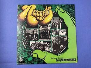 VA-NUGGETS-Vol-7-Early-San-Francisco-LP-Vinyl-Record-Album-1985-Rhino-Psyc-Rock