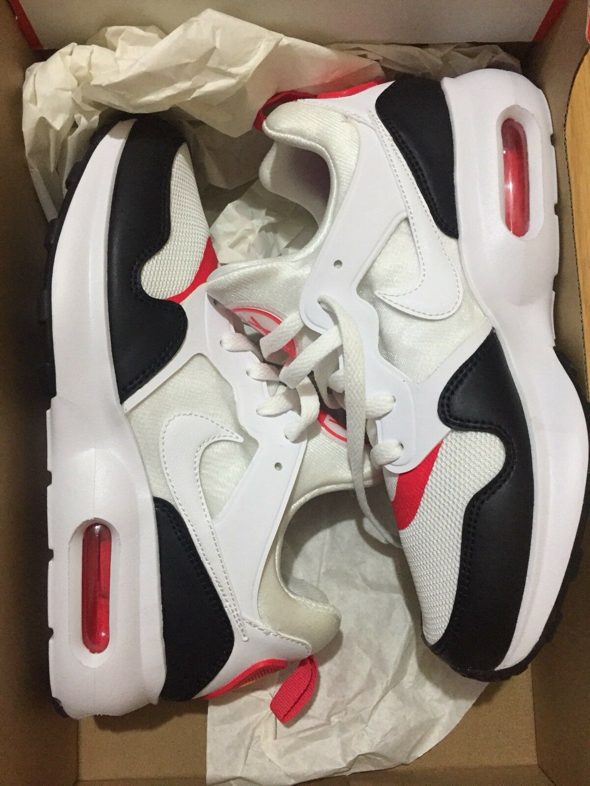 Nike AIR MAX PRIME Taglia Bianco/Rosso/Nero