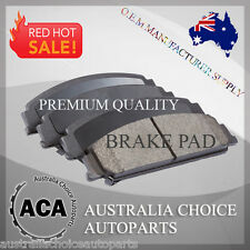 Front Brake Pads 1714 for Toyota Corolla ZZE122R 1.8L 2001 - Now