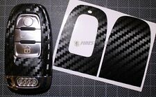 CARBON Folie Dekor Schlüssel Audi C A4 B8 S4 RS4 A5 S5 8T A6 S6 4F 4G S Line 8K