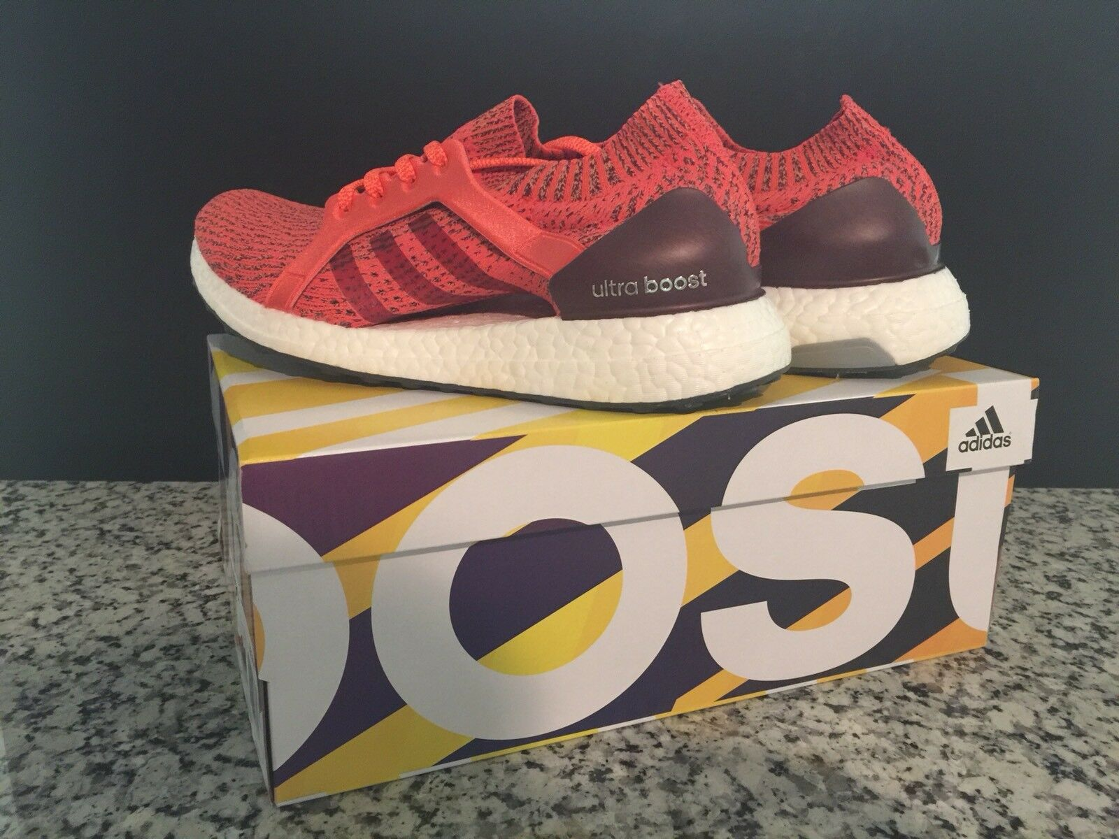 Adidas Originals Women's Ultra Boost X in in in Pink Tactile Red BB1694 Size 5.5 9cd1c7