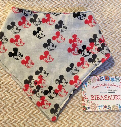 Bandana Bebé Babero Mickey Mouse
