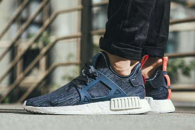 Adidas Originals Originals Originals NMD XR1 PRIMEKNIT Blau CAMO damen Trainers UK 5.5 schuhe RARE    526d02