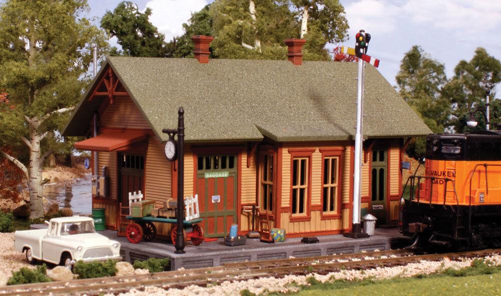 Woodland Scenics pf5187 h0 Station Woodland Station