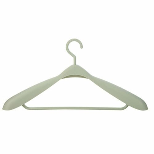 Thick No Trace Wide Shoulder Plastic Coats Clothes Hanger Bold Drying Racks ND