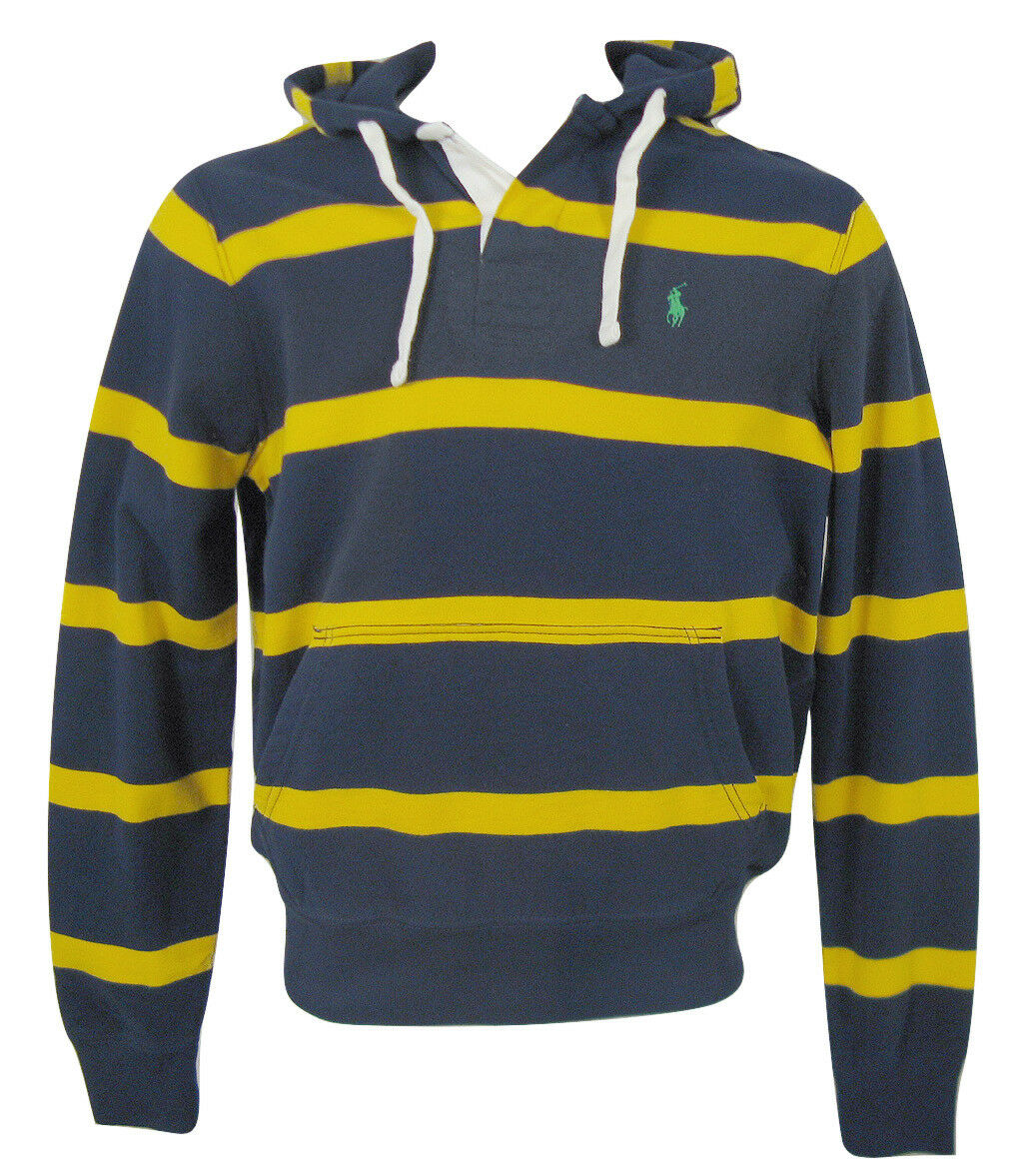 NEW Polo Ralph Lauren Rugby Style Hoodie Sweatshirt   grau, Navy, Grün or ROT