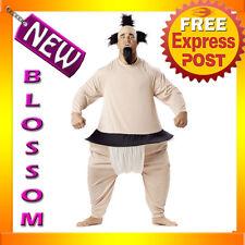 C117 Sumo Wrestler Japan Hallowen Fancy Dress Adult Costume