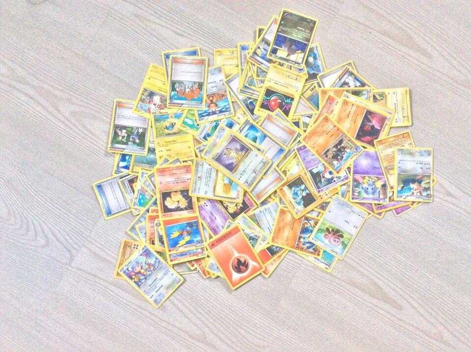 Samlekort, Kæmpe bunke Pokémon kort, Pokémon Kort