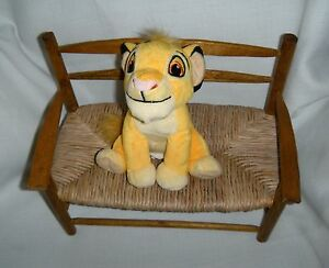 Groovy Details About Disney Simba Lion King Cub Sitting 7 Bean Bag Plushtoy Soft Boys Girls 3 Inzonedesignstudio Interior Chair Design Inzonedesignstudiocom
