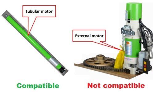 Garage Roller Shutter Door Receiver Box Fixed//Rolling code 433.92MHz 220-240V