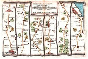 Antique-map-The-Road-from-Kings-Lyn-to-Norwich-continued-to-Yarmouth-plate-076