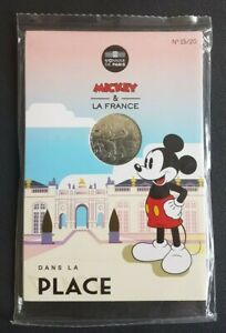 FRANCE - FRANCIA - COFFRET MONNAIE DE PARIS 10 EURO MICKEY DANS LA PLACE 2018.