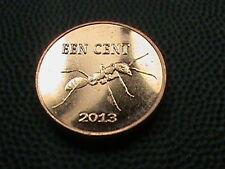 SAINT  EUSTATIUS  -  NETHERLANDS    1  Cent   PROOF    2013   ANT