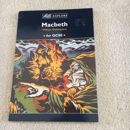 1 of 1 - LETTS EXPLORE. MACBETH. WILLIAM SHAKESPEARE. FOR GCSE.