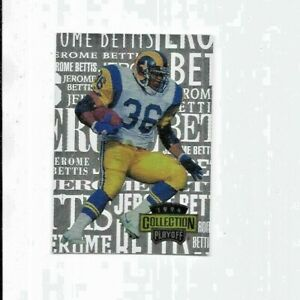 Jerome-Bettis-From-Motown-To-South-Bend-Insert-1994-Playoff-Collection-1-Of-5