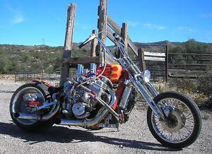 Details About Sidewinder V8 Hot Rod Motorcycle Plans Harley Driveline Springer Wide Tire