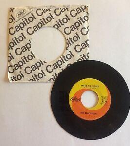 45-Record-THE-BEACH-BOYS-Wake-the-World-Do-It-Again-Capitol-Records