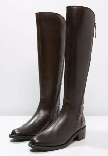 Leather Brown Long Valana Size Knee Melrose Clarks 38 D High Ladies Boots 5 Uk aqfwIct