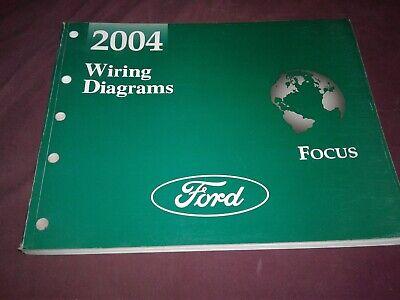 2004 ford focus wiring diagrams service manual  ebay