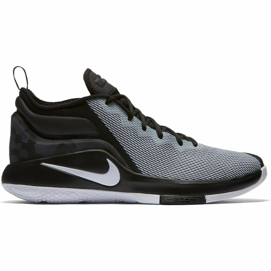 Men's LeBron Witness II Basketball shoes 942518-011 BLACK WHITE