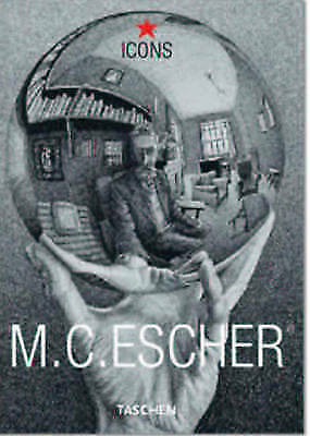 M. C. Escher (Icons) (English, French and German Edition)-ExLibrary