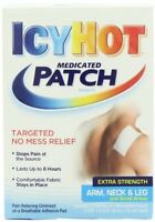 2 Pack - Icy Hot Extra Strength Medicated Patch, Small, 5 Each on sale