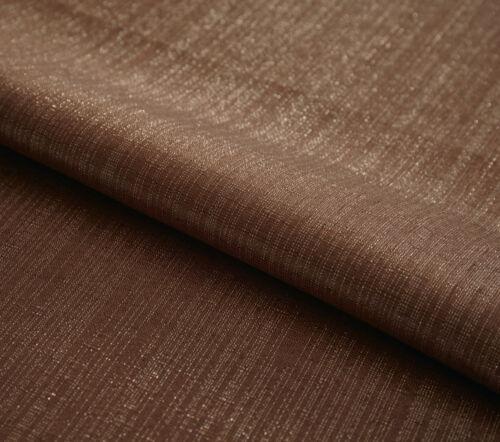 Tafeldecke Tischdekoration Tischdecke Shiny Brown 140 x 240 cm Glitzereffekt