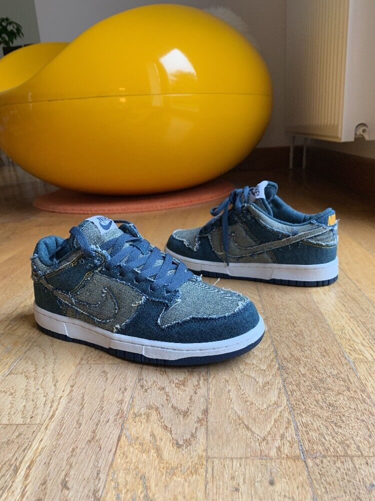 Rare Nike Dunk Faible CL Denim Forbes