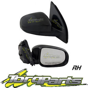 MIRROR RH ELECTRIC SUIT FG FALCON FORD 08-14 NO INDICATOR LIGHT DOOR SIDE REAR