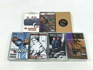 Lot-of-7-Cassette-Tapes-90-039-s-Explicit-Rap-Hip-Hop-Bumpy-Knuckles-Bush-Babees