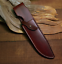 knife-blade-sheath-cover-scabbard-case-bag-cow-leather-customize-brown-Z1008 thumbnail 2