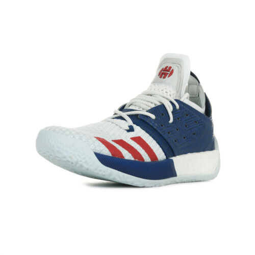 "Chaussures adidas Performance homme Harden Vol 2 /""USA/"" Basketball taille Blanc"