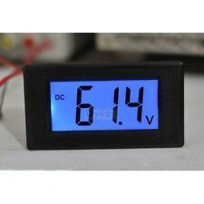 DC 16-70v Voltmeter Digital LCD Voltage meter F Car Battery Monitor 12V 24V 36V