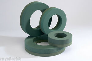 Wreath-Ring-Oasis-Ideal-Floral-Foam-Backed-Round-Shape-Smithers-Oasis-Floristry