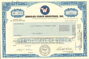 WHEELED-COACH-gt-Florida-auto-stock-certificate-share