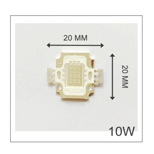 Wholesale UV//RGB COB Chips Copl//Warm White 10W for DIY Light Bulb High power
